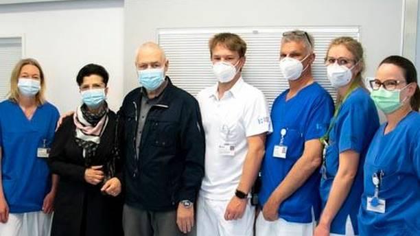 Intensivpatient bedankt sich mit Zvieri bei Spitalmitarbeitenden
