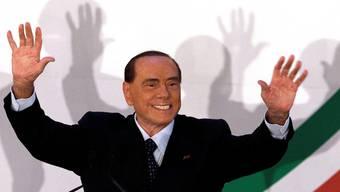 Verspricht wieder mal eine liberale Revolution: Berlusconi (81).