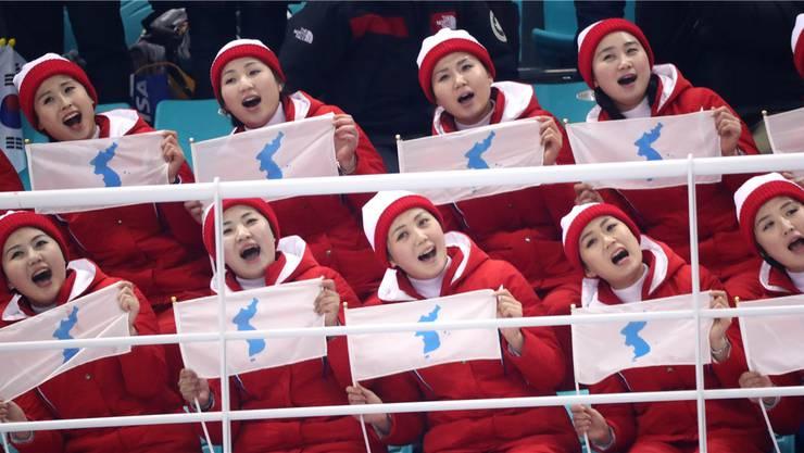 Kims «Armee der Schönen» sorgten in Pyeongchang für Aufsehen.