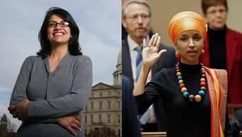 Sie schreiben heute US-Geschichte: Die ersten muslimischen Frauen im US-Kongress, der erste schwule Gouverneur, die jüngste Frau überhaupt.