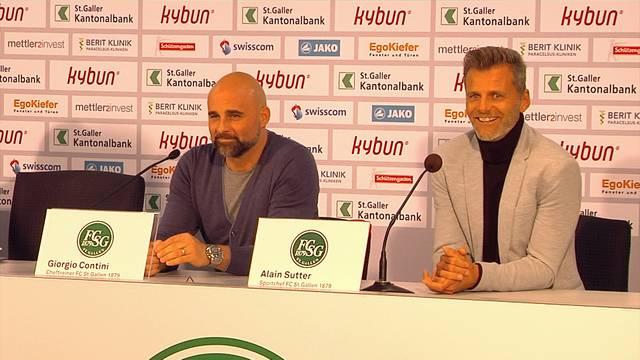 Alain Sutter wird neuer FCSG-Sportchef