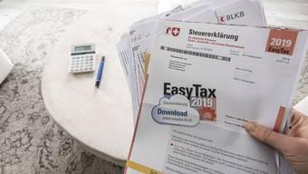 Sinkende Steuerbelastung in Baselbieter Gemeinden. (Symbolbild)