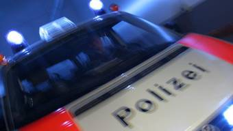 Die Polizistin verletzte sich leicht. (Symbolbild)