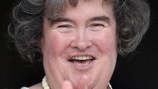 Susan Boyle vor ihrem Imagewandel