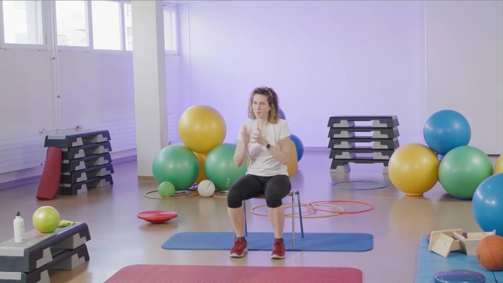 «Gymnastik im Wohnzimmer» vom 16. April 2021