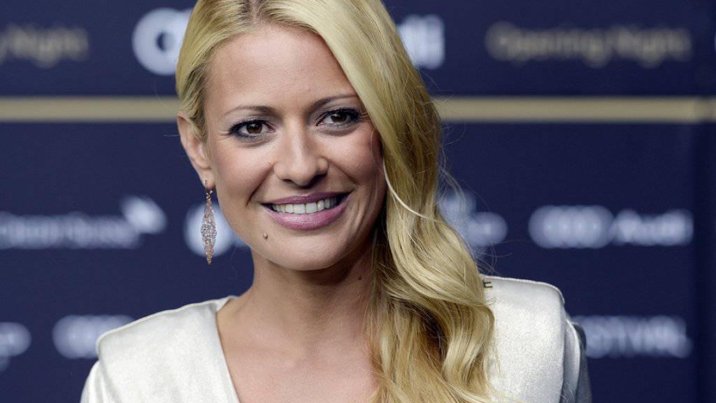 Die Ex-Schönheitskönigin Christa Rigozzi hat am 31. Dezember 2016 Zwillinge geboren, fast einen Monat früher als erwartet (Archiv)