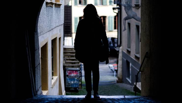 Gabrielle Hirt in der Altstadt von Biel: «Ich kämpfe mit Daniel, wo ich kann. Aber es gibt heute sein Leben und mein Leben.»