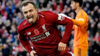Shaqiris zweites Saisontor für Liverpool (11.11.2018)