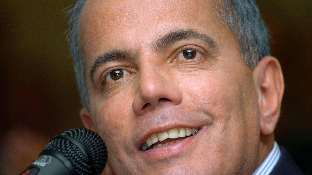 Verhaftet bei der Rückkehr nach Venezuela: Exil-Politiker Manuel Rosales (Archivbild)