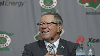 Die Zeit von Paul Fenton bei den Minnesota Wild ist zu Ende