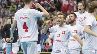 Die Schweizer schliessen die WM in Prag mit dem Gewinn des Spiels um Platz 3 versöhnlich ab