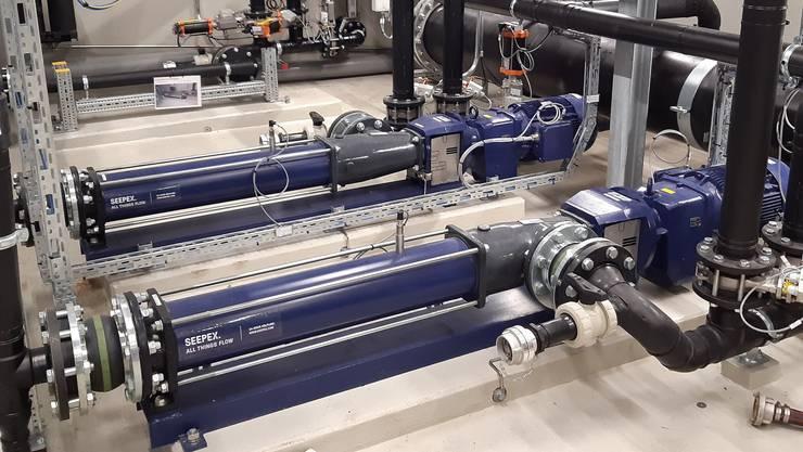 Die Anlage ist eine der grössten Abwasser-Reinigungsbetriebe der Schweiz; sie verarbeitet rund sechs Millionen Kubikmeter Abwasser pro Jahr.
