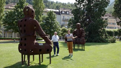 Bad Ragaz und sein Heilwasser / Collection Hutter / Kunst Open-Air