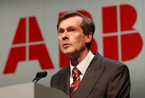 Der Deutsche gilt als «Retter der ABB». Er führte das Unternehmen aus einer schweren Krise. Später war er Präsident.
