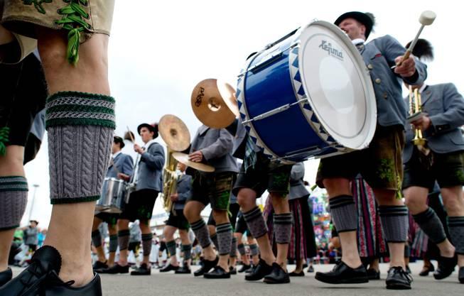 Impressionen vom zweiten Oktoberfest-Tag mit dem traditionellen Umzug.