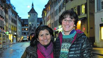 Bolivianischer Besuch in Liestal: Standortleiterin Elisabeth Montero (links). (Archivbild)
