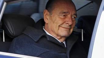 Jacques Chirac soll frei gesprochen werden - dies verlangt die Staatsanwaltschaft (Archiv)