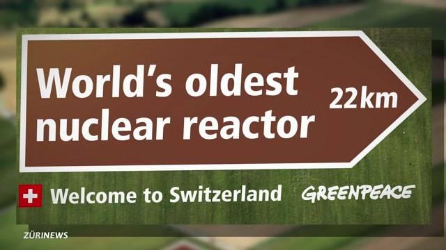 Greenpeace warnt am Flughafen