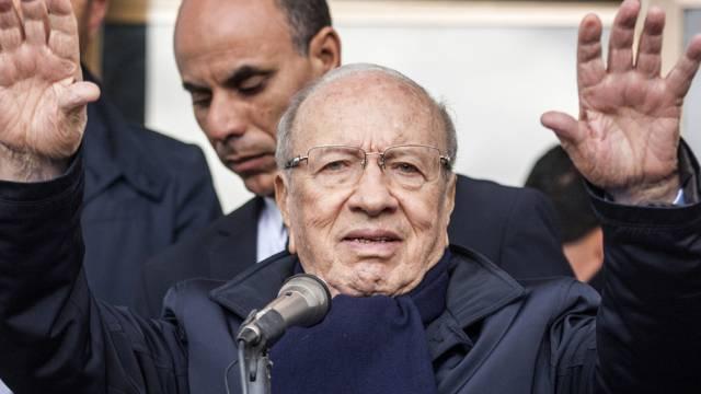 An Lebenserfahrung fehlt es ihm nicht: der 88-jährige Essebsi