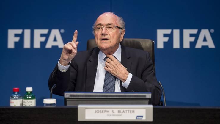 Fifa-Präsident Sepp Blatter hat diese Woche seinen Rücktritt bekannt gegeben.