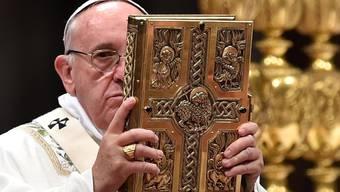 Papst Franziskus reist nach Lesbos.