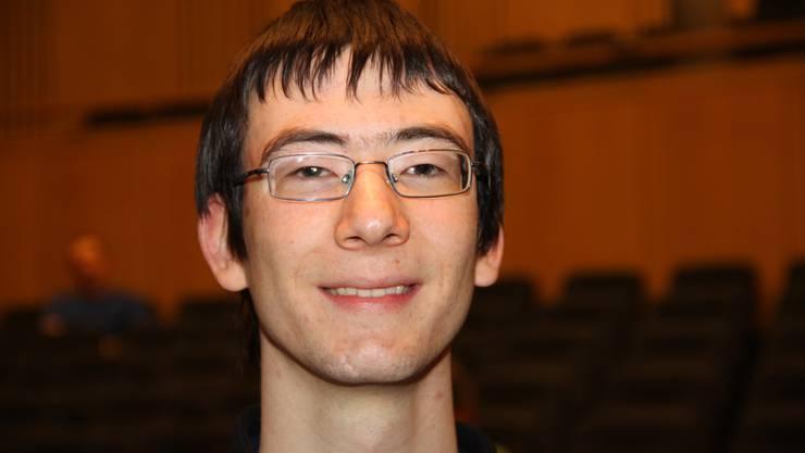 Der 18-jährige Münchensteiner Johannes Kapfhammer gewann die Schweizer Informatik-Olympiade an der ETH Zürich.