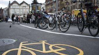 Der VCS beider Basel fordert den Ausbau der Veloinfrastruktur.