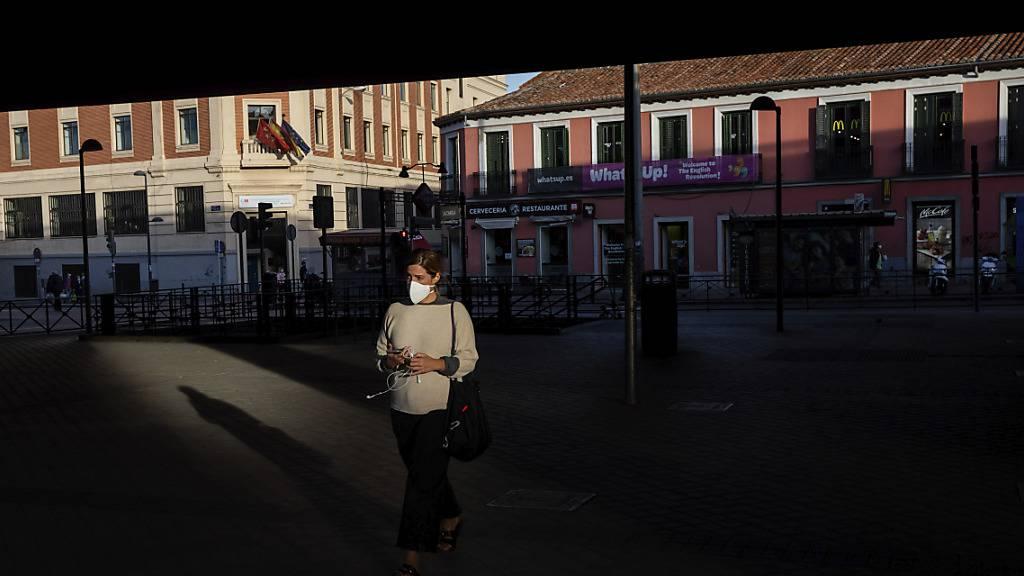 Experten halten Madrids Massnahmen gegen Corona für unzureichend