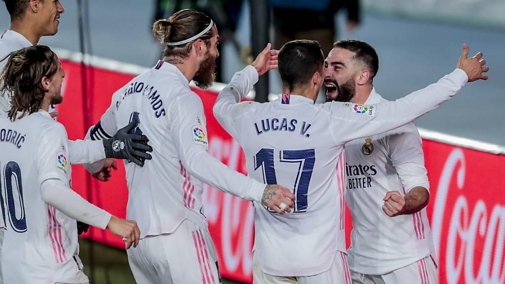 Real Madrid jubelt über den wichtigen Derby-Sieg gegen Leader Atlético