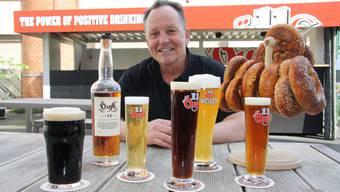 Alex Künzle setzt auf Biervielfalt – das ganze Jahr über.