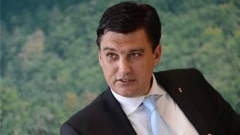 Will seiner Partei helfen: Wirtschaftskammer-Direktor und Noch-FDP-Landrat Christoph Buser. (Archiv)