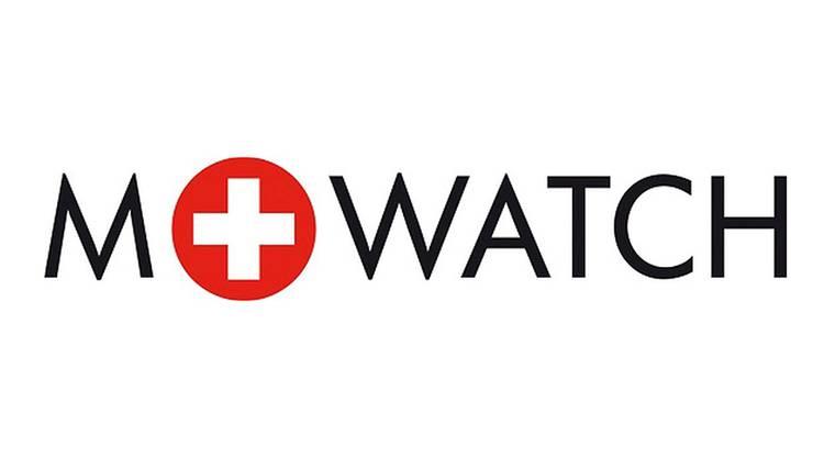 Mondaine und Migros verkaufen weiterhin Uhren unter der Marke M-Watch, aber mit je eigenem Logo. Hier das Mondaine Logo.