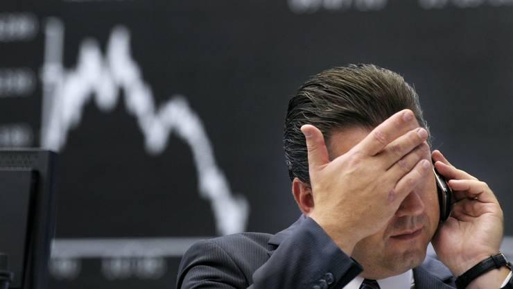 Die Börse hat ein ernüchterndes Jahr hinter sich. (Archiv)