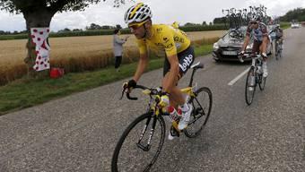 Tony Gallopin, hier im gelben Leader-Trikot, gehört zur neuen Radsport-Generation.