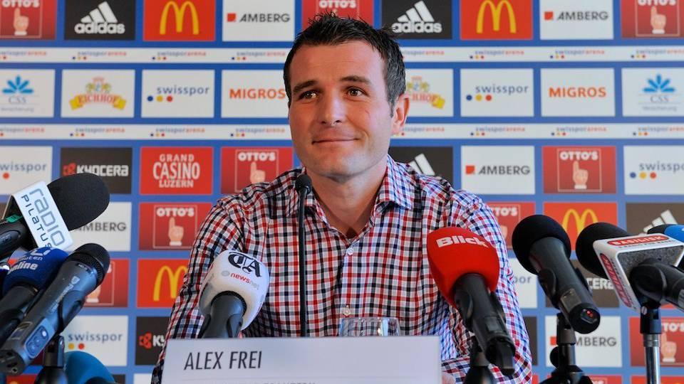 Erster Arbeitstag von Alex Frei als FCL-Sportdirektor