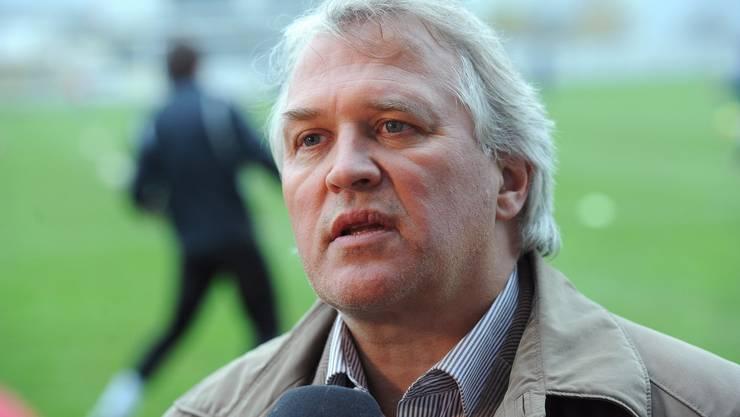 Erleichtert: Vereinspräsident Andy Wyder