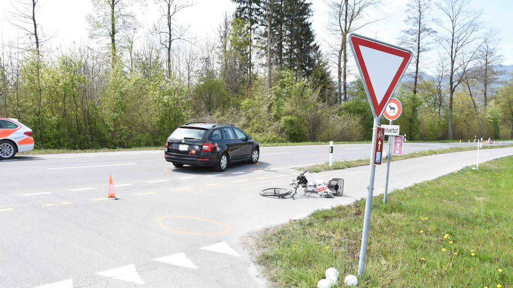 E-Biker stirbt nach Crash mit Auto