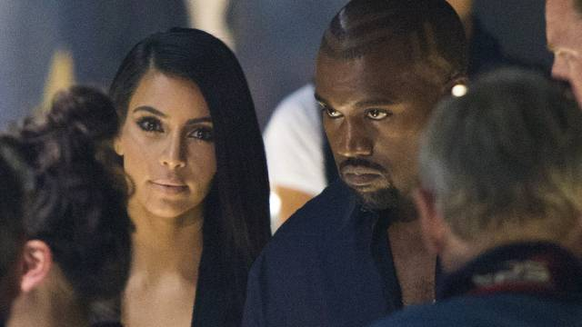 Kim Kardashian an der Pariser Modeschau (Archiv)