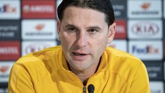Trainer Gerardo Seoane hat mit den Young Boys wichtige Spiele vor sich