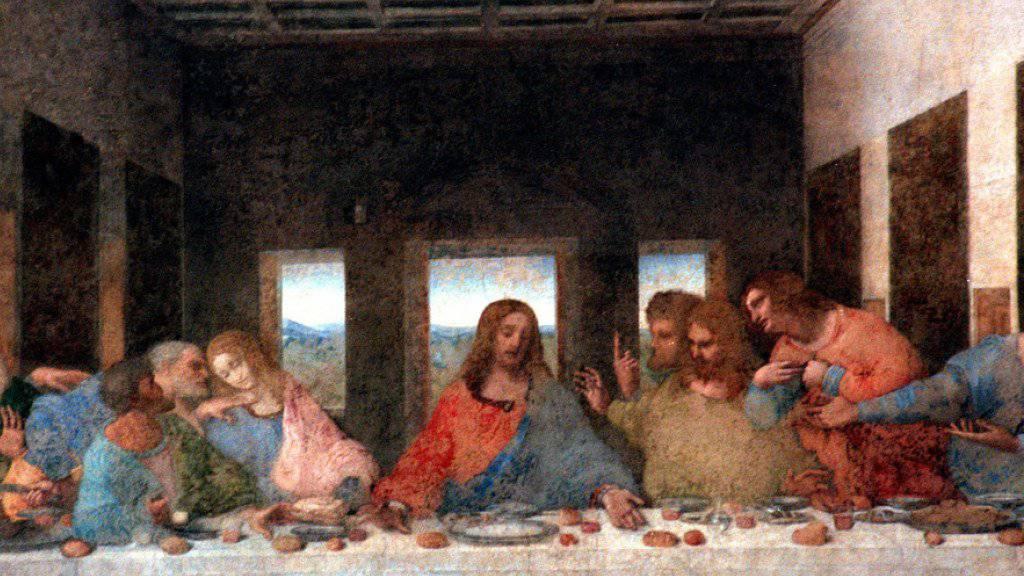 Zum Schutz von Leonardo da Vincis «Letztem Abendmahl» sollen die Trams in Mailand langsamer fahren. (Archivbild)