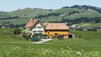 Bauernhaus oberhalb von Appenzell (Archivbild)