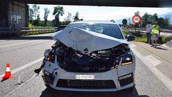 Am Auto entstand grosser Schaden.