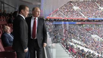 Patrik Müller: «Putin nutzt die Fussball-WM, die am Sonntag mit dem Final Frankreich - Kroatien zu Ende geht, um sich und sein Land der Welt mit Stärke und Stolz zu präsentieren.»