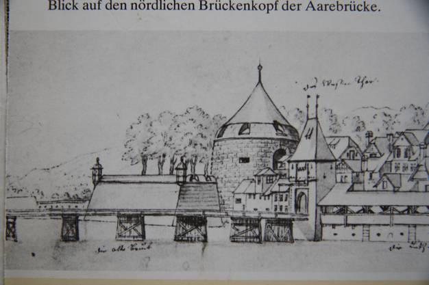 Im 18. und 19. Jahrhundert verbarg sich der Gasthof Storchen hinter dem Wassertor