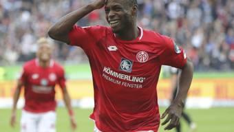 Anthony Ujah jubelt in Zukunft für Bundesliga-Aufsteiger Union Berlin