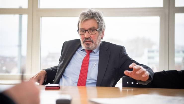 Will für die Solothurner SP den Sitz im Ständerat sicherstellen: Der Gerlafinger Roberto Zanetti.