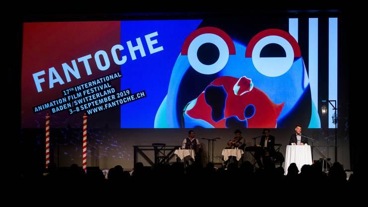"""Eröffnungsfeier des 17. Internationalen Animationsfilmfestival """"Fantoche"""" im Trafo Baden."""