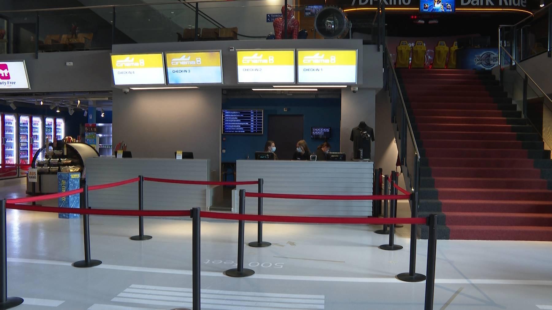 Thumb for ‹«Zeichen setzen»: Das Cinema 8 in Schöftland schliesst alle Innenräume ›