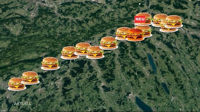 Fastfood-Boom: Neues Schnellrestaurant an der A1