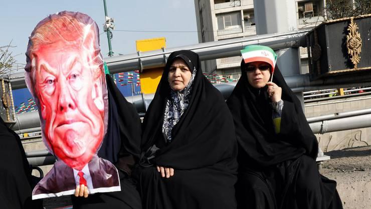 Die Beziehung zwischen der Iranern und US-Präsident Donald Trump ist aufgeheizt.